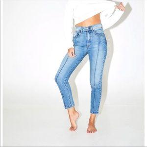 REVICE Denim Venus Crops star denim jeans